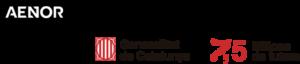 AENOR, Generalitat de Catalunya logos