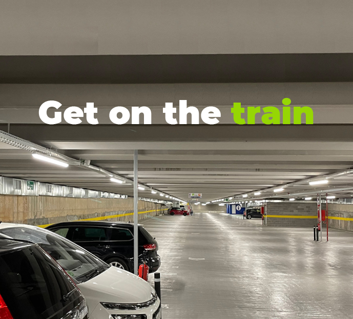 Get on the train