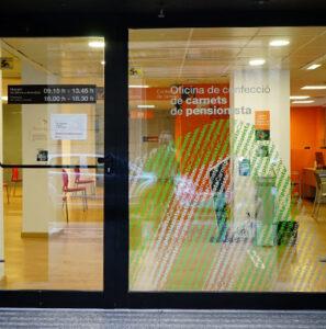 Oficina de confecció de carnets de pensionista