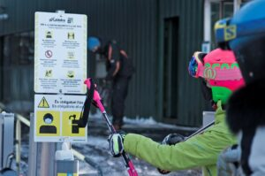 Mesures covid en les estacions d'esqui